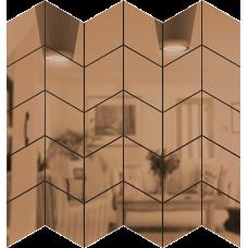 Зеркальная мозаика Бронза СКАТ