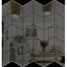 Зеркальная мозаика Графит СКАТ