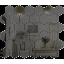 Зеркальная мозаика Графит СОТА