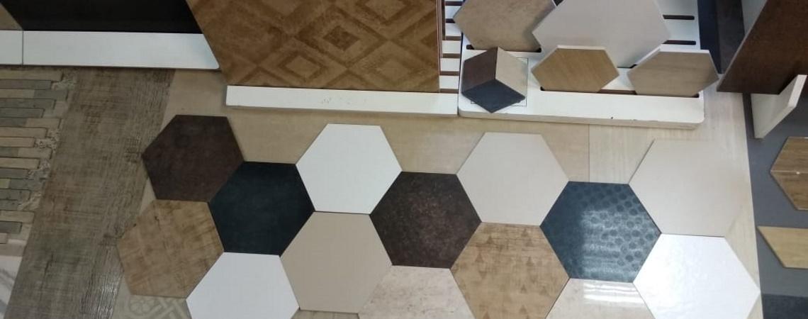 Hexagon / Шестигранники из Керамогранита